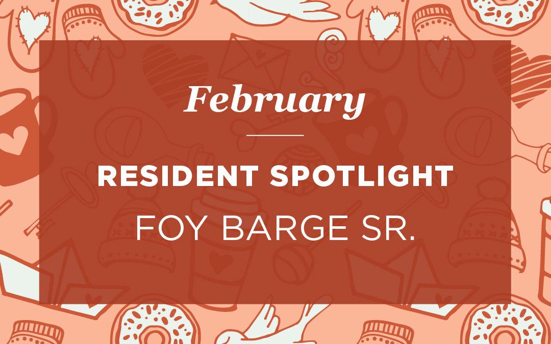 Foy Barge Sr.